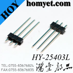 2.54mm 3p Pin Header Long Pin Header Connector for PCB pictures & photos