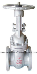 ASME Standard 150lb API Stainless Steel Flange Gate Valve pictures & photos