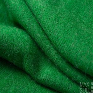 Wool/Polyester Fabric with Good Elasticity for Winter in Green pictures & photos
