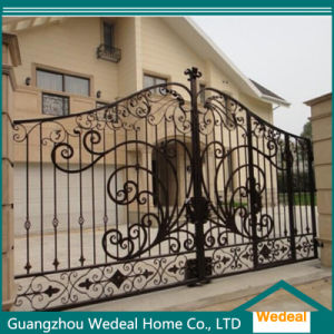 Factory Supply Luxury Exquisite Wrought Iron Gate for Villa pictures & photos