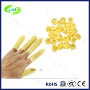 Clean Chlorine Free Sulfur Antistatic Nitrile Finger Cots pictures & photos
