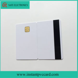 Personalized Inkjet Printable Magnetic Stripe 4428 Chip PVC Card pictures & photos