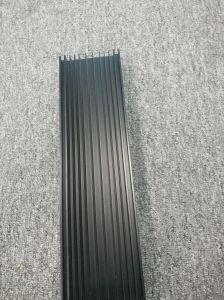 Customized Matt Anodised Black Aluminium Extruded Profile pictures & photos