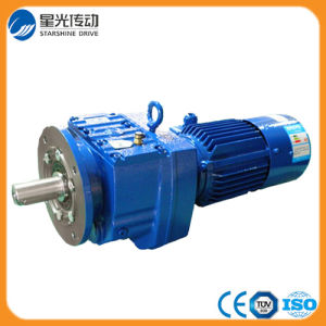 R Flange Mounted Gearbox with Motor pictures & photos