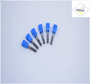 Cutoutil HRC55 Tialn Coating R2.5*10*5D*50L*2f/4f for Steel CNC Machining Part  Ball Nose End Mills pictures & photos
