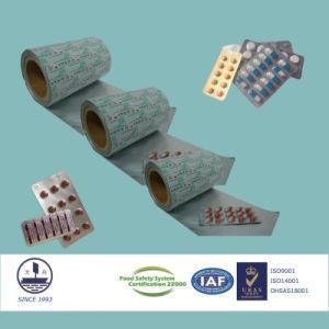 Pharmaceutical Ptp Aluminum Foil for Packaging Tablets 8011 H18