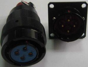 4 Pins Military Power Circular Connector pictures & photos