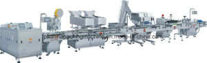 Electric Bottle Counting and Filling Line with Siemens PLC pictures & photos