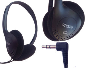 Wholesale 3.5mm L- Shaped Computer Headphone From Shenzhen pictures & photos