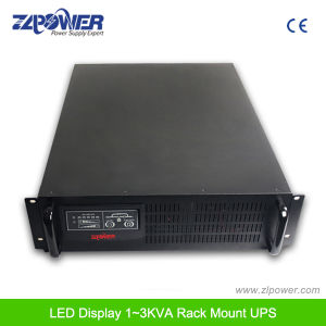 Rack Mount UPS+LCD Display UPS1KVA, 2KVA, 3KVA, 6KVA pictures & photos