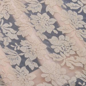 Nylon Cotton Embroidery Net Lace Fabric pictures & photos