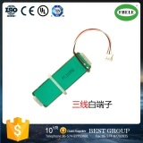 Piezoelectric Ceramic Stack Layer Cylindrical Micro Displacement Actuator Actuator pictures & photos
