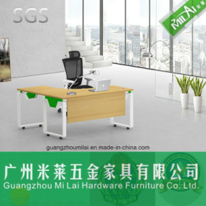 Modern Office Furniture Manager Table with Metal Frame (ML-13-JLB) pictures & photos
