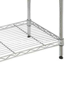 Shop Wire Shelves in The Wire Close Chromed Wholesale Wire Shelf Accessories pictures & photos