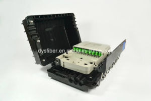Korea Optical Fiber Clip Clock Closure 1: 8 PLC Splitter Closure pictures & photos