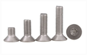 Flat Head Socket Cap Screws pictures & photos