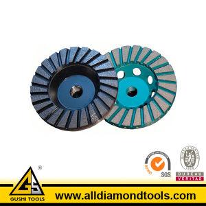 Turbo Diamond Cup Wheel (HCPT) pictures & photos