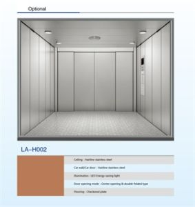 Standard Decoration and with Machine Room Cargo Elevator pictures & photos