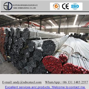 ASTM A36 Hot DIP Galvanized Round Steel Pipe (Tube) pictures & photos