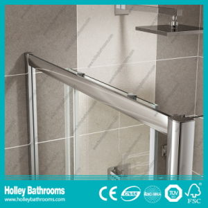 Rectangle Shower Sliding Door with Aluminium Alloy Frame (SE903C) pictures & photos