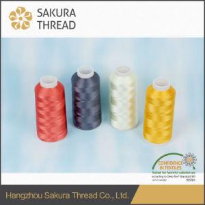 Oeko-Tex Grade1 Sakura 150d/2 Polyester Filament for High-End Embroidery pictures & photos