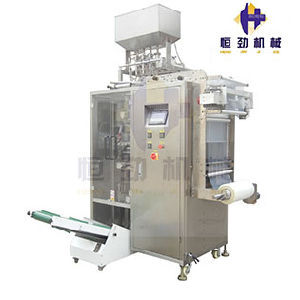 Ice Pop Filling and Packing Machine