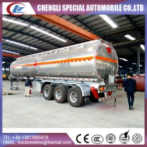 China 40000 Liters Fuel Oil Tanker Semi Trailer pictures & photos
