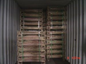 Euro Steel Transport Collapsible Storage Wire Mesh Cage pictures & photos