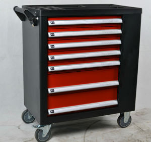 Heavy Duty 7 Drawers Practical Tool Cabinit with Acoustics (FY&⪞ apdot; 4A1) pictures & photos