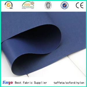 Soft Thin PVC Coated Polyester Fabric for Light Weight Bags pictures & photos