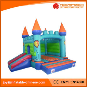 Kids Amusement Inflatable Moon Bouncy Castle with Slide Combo (T2-301) pictures & photos