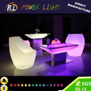 Illuminated Colorful LED Furniture LED Square Table pictures & photos