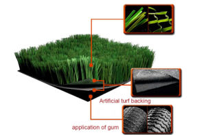Woven Fabric PP Secondary Artificial Grass Backing for Artificial Turf pictures & photos