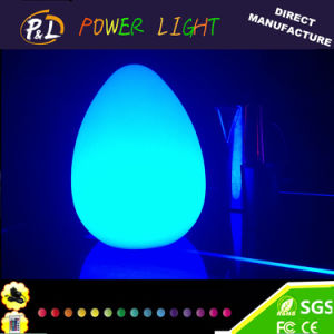 Event Decoration 16 Colors Changing LED Egg Lamp pictures & photos