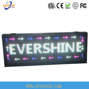 Top Quality Red P10 Double Sides Display Outdoor LED Sign pictures & photos