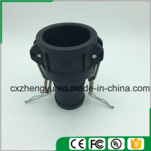 Plastic Camlock Couplings/Quick Couplings (Type-C) , Black Color