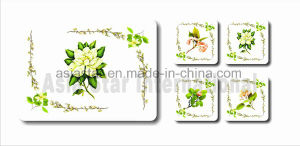 Square Pastoral Cork Coaster and Placemat (CC20) pictures & photos