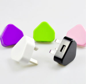 Mobile Phone UK Plug USB Travel Charger for iPhone for All Smart Phones pictures & photos