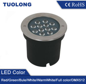 RGB CREE LED Chip Super Bright 12W LED Underground Light pictures & photos