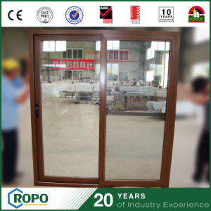 PVC Wood Frame Sliding Door, Kitchen Door pictures & photos
