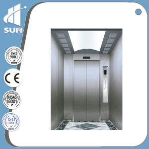 Speed 1.0m/S-2m/S Machine Roomless Passenger Elevator pictures & photos