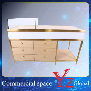 Display Case (YZ161708) Display Cabinet Stainless Steel Display Shelf Display Showcase Exhibition Cabinet Shop Counter