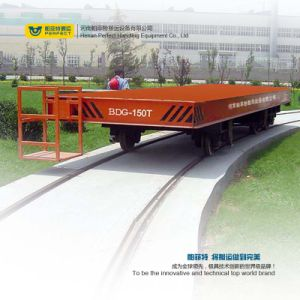 20t Battery Powered China Rail Electric Transport Wagon pictures & photos