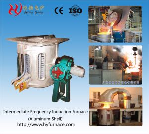 350kg Copper Melting Furnace pictures & photos
