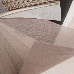 Window Blind Soft Material Colorful Fabric Curtain pictures & photos
