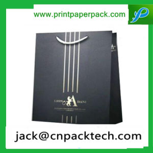 Professional Customized Waterproof Cardboard Bag with Rope Handle pictures & photos