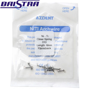 Factory Price 10PCS/Pack Orthodontic Niti Coil Spring pictures & photos