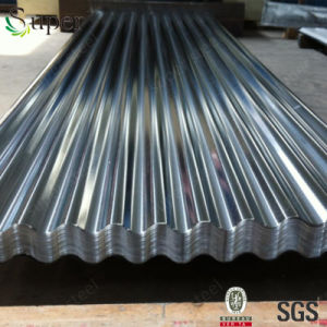 Steel Plate Building Material Galvanized Steel Sheet for Roofing Sheet pictures & photos