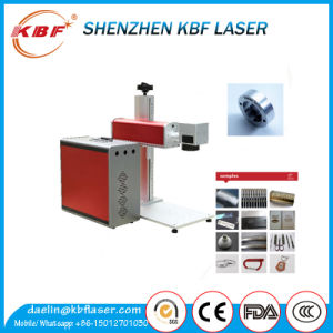 Mopa Stainless Steel Cutleries Desktop Fiber Laser Engraver pictures & photos