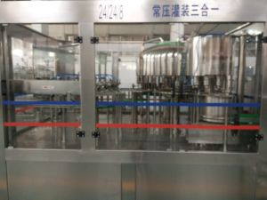 Automatic Soda Water/Mineral Water/Spring Water Filling Machine/Packing Machine pictures & photos